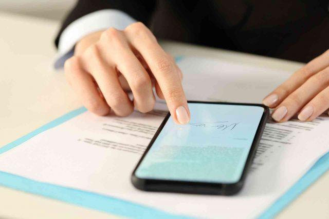 Come firmare digitalmente un documento PDF